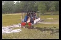 Salvinia Water Mower Demo - Short Version
