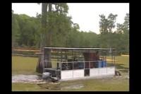 Salvinia Water Mower Demo - Long Version